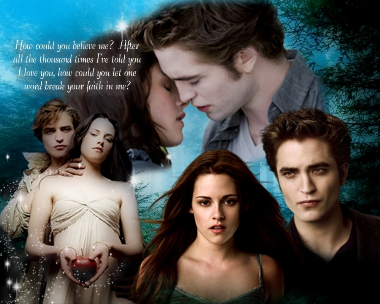 Edward and Bella Twilight Twilight's Robert & Kristen Love Story