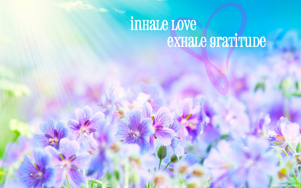 Inhale Love - The Chakras & Chakra Balancing Meditation - Deidre Madsen